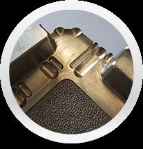 Exemple d'une découpe métal